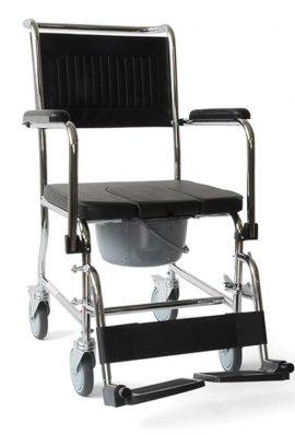 Καρέκλα Τροχήλατη Με WC
