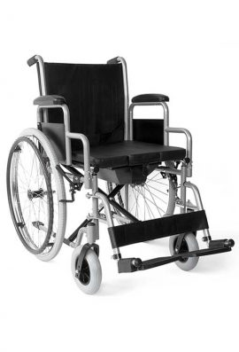 Αναπηρικό Αμαξίδιο Αφαιρούμενα Πλαϊνά Και WC
