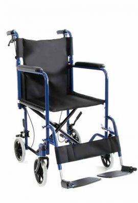 Αναπηρικό Αμαξίδιο Με Φρένα Συνοδού
