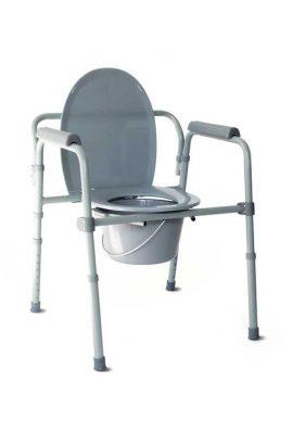 Καρέκλα Πτυσσόμενη Με WC Ρυθμιζόμενου Ύψους