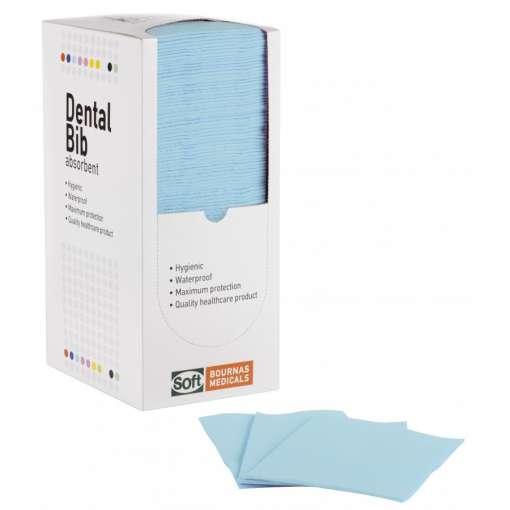 Οδοντιατρική Πετσέτα 2ply Χαρτί Και 1ply Πλαστικό Χωρίς Dispenser