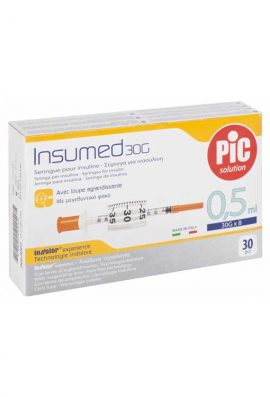 Σύριγγες PIc 0,3ml Ινσουλίνης