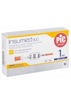 Σύριγγες Pic 1cc G-30 Ινσουλίνης