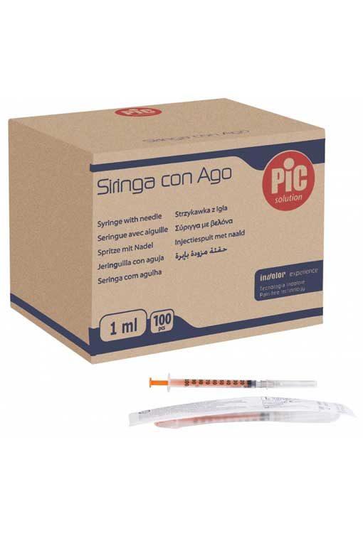 Σύριγγες PIc 1cc G-27 Ινσουλίνης