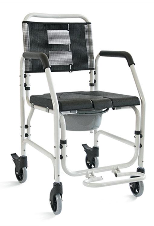Καρέκλα Τροχήλατη Αλουμινίου