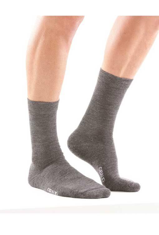 Μάλλινες Κάλτσες Ανθρακί Unisex