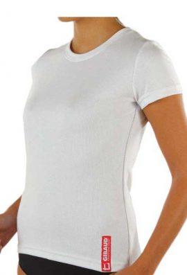 Γυναικεία Ισοθερμική Φανέλα Λευκή Κοντό Μανίκι