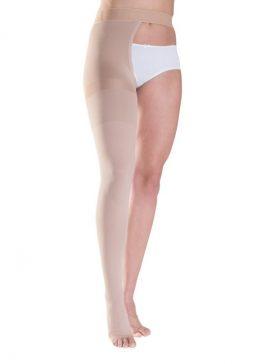 Κάλτσες Ιατρικές Διαβαθμισμένης Συμπίεσης Sigvaris 503 Ριζομηρίου με Ζώνη