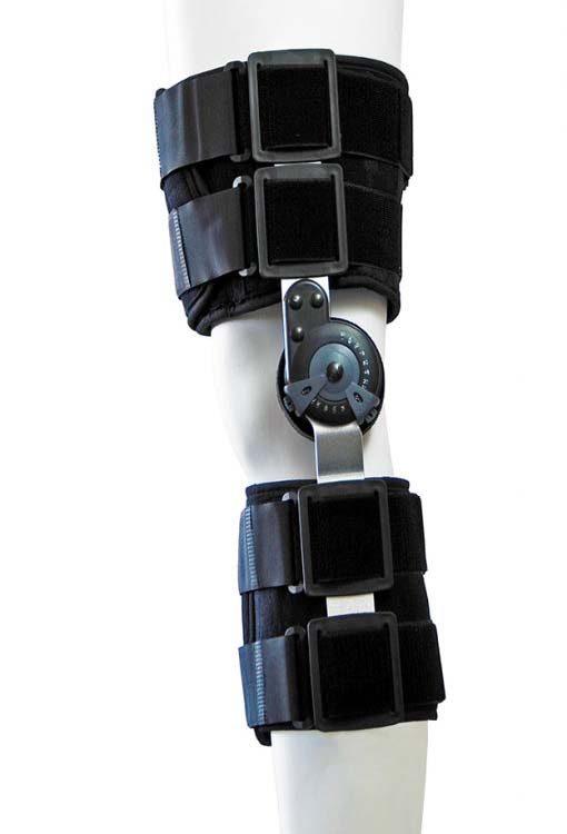 Νάρθηκας μηροκνημικός λειτουργικός με γωνιόμετρο PREMIUM SHORT