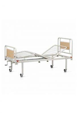 Νοσοκομειακό Κρεβάτι Δίσπαστο Με Ρόδες