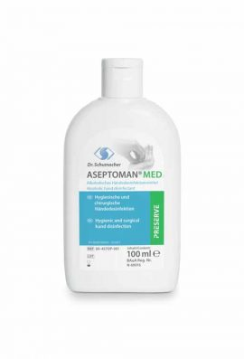 Αντισηπτικό Aseptoman Gel Dr.Schumacher 100ml 85%