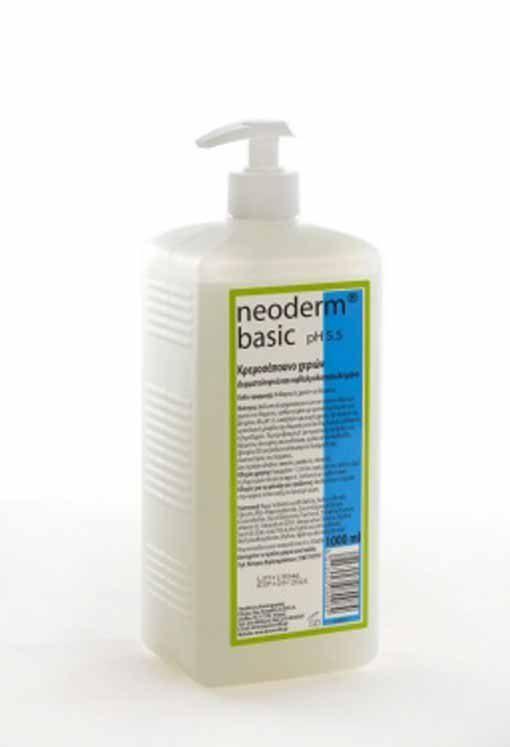 Καλλυντικό Κρεμοσάπουνο Με Αντλία Neoderm Basic 1lt