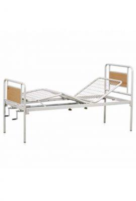 Νοσοκομειακό Κρεβάτι Χειροκίνητο Δύο Μανιβέλα