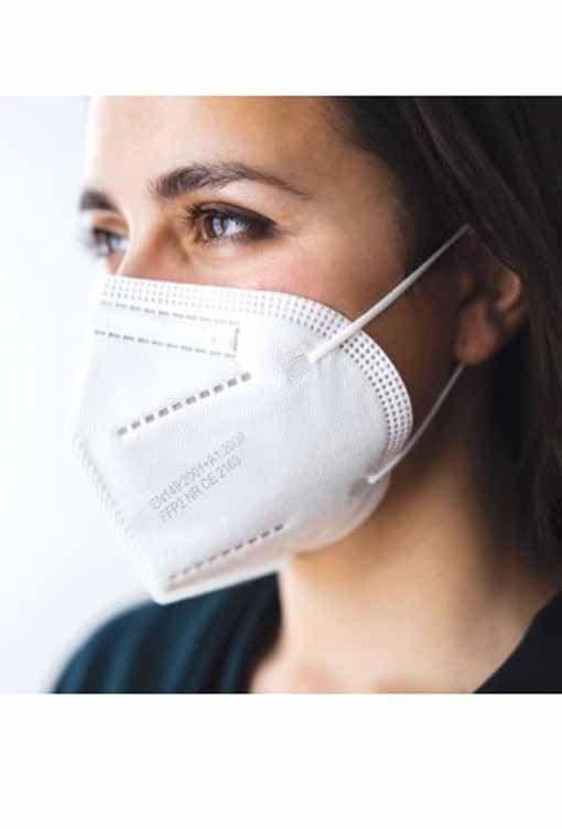 FFP2 Μάσκα Προστασίας Soft Care Λευκή